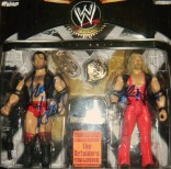 Autographed by Scott Hall & Kevin Nash