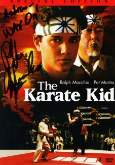 Autographed by Ralph Macchio
