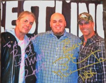 Autographed by Shawn Michaels & Bret Hart