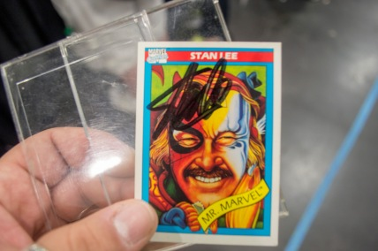 Autographed by Stan Lee
