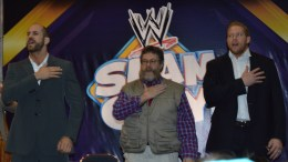 Cesaro, Zeb Colter & Jack Swagger