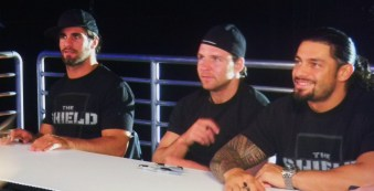 The Shield - Seth Rollins, Dean Ambrose & Roman Reigns