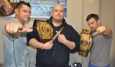 The American Wolves Eddie Edwards & Davey Richards