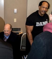 Gene Okerlund & Ron Simmons