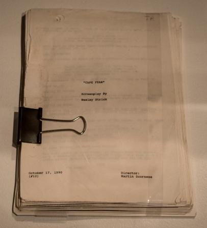 Cape Fear Script