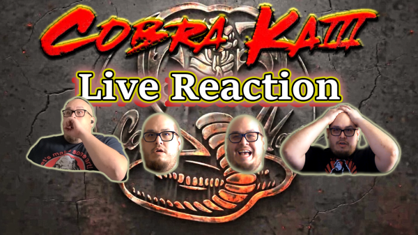 Cobra Kai S3 Reaction Banner